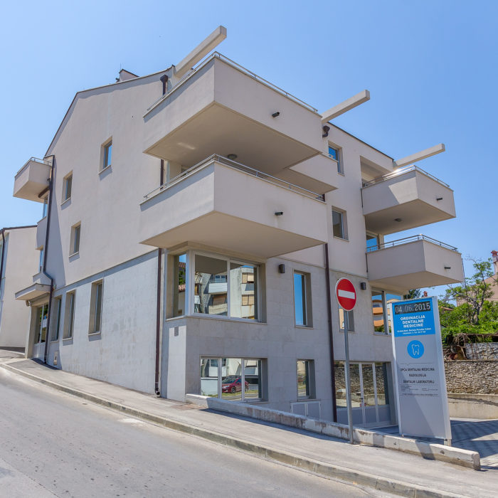 Accommodation in the Cukon dental clinic in Croatia