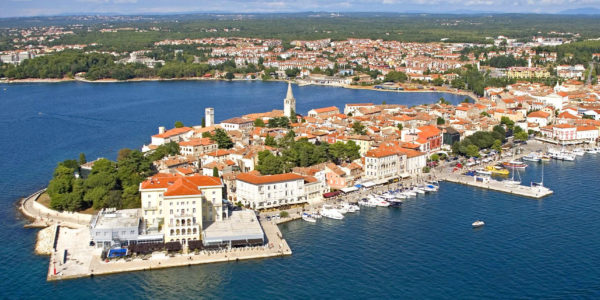 Porec in Croatia